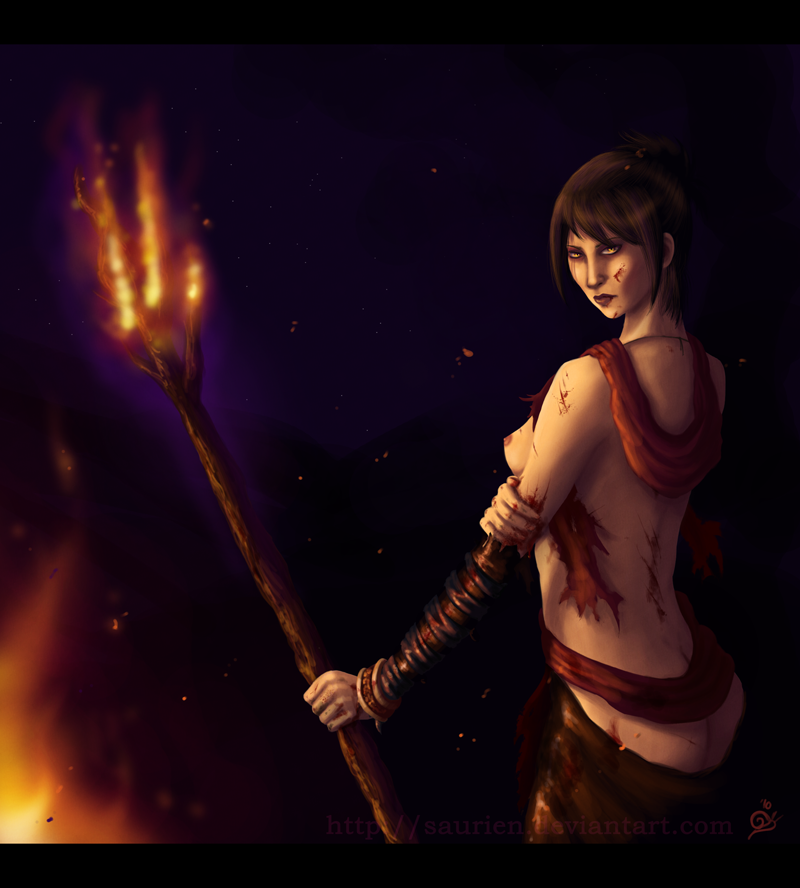 dragon age cassandra Pauldrons of the molten giant