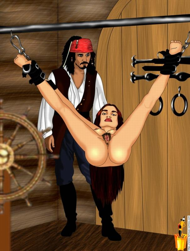 of pirates nude caribbean the Lala and the bizarre dungeon