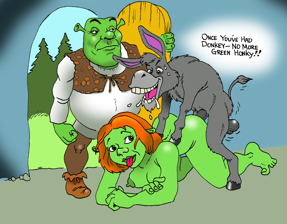 old is donkey shrek how from Yuria of londor