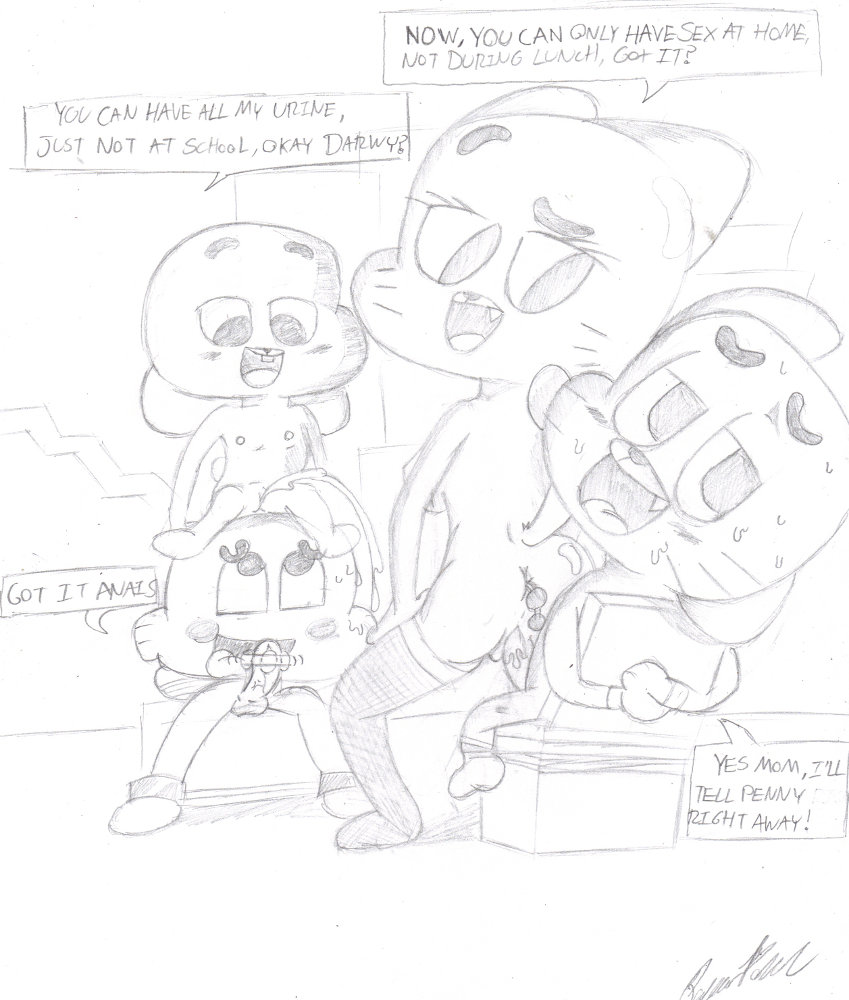 amazing pictures gumball world of Fox mccloud and wolf o'donnell fanfiction
