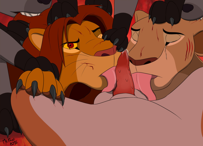 simba and kovu king lion Christie dead or alive 5