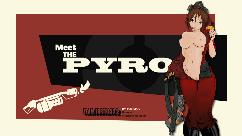 female team fortress pyro 2 Trawinsky and the mysterious house