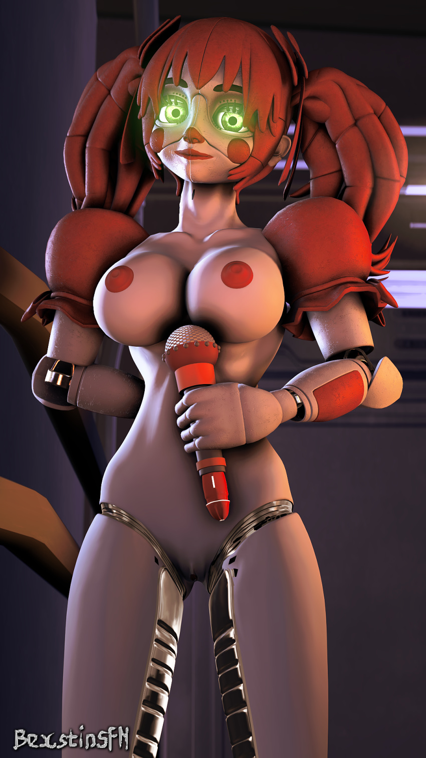 funtime location foxy at five freddy's nights sister The world ends with you beat and rhyme