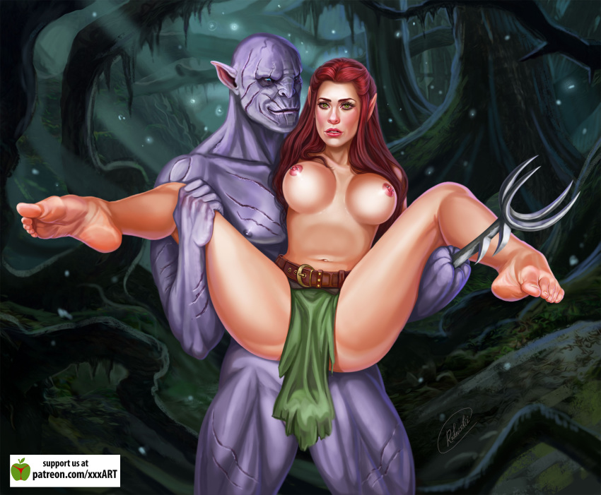 porn lord rings the the of Starfire justice league vs titans