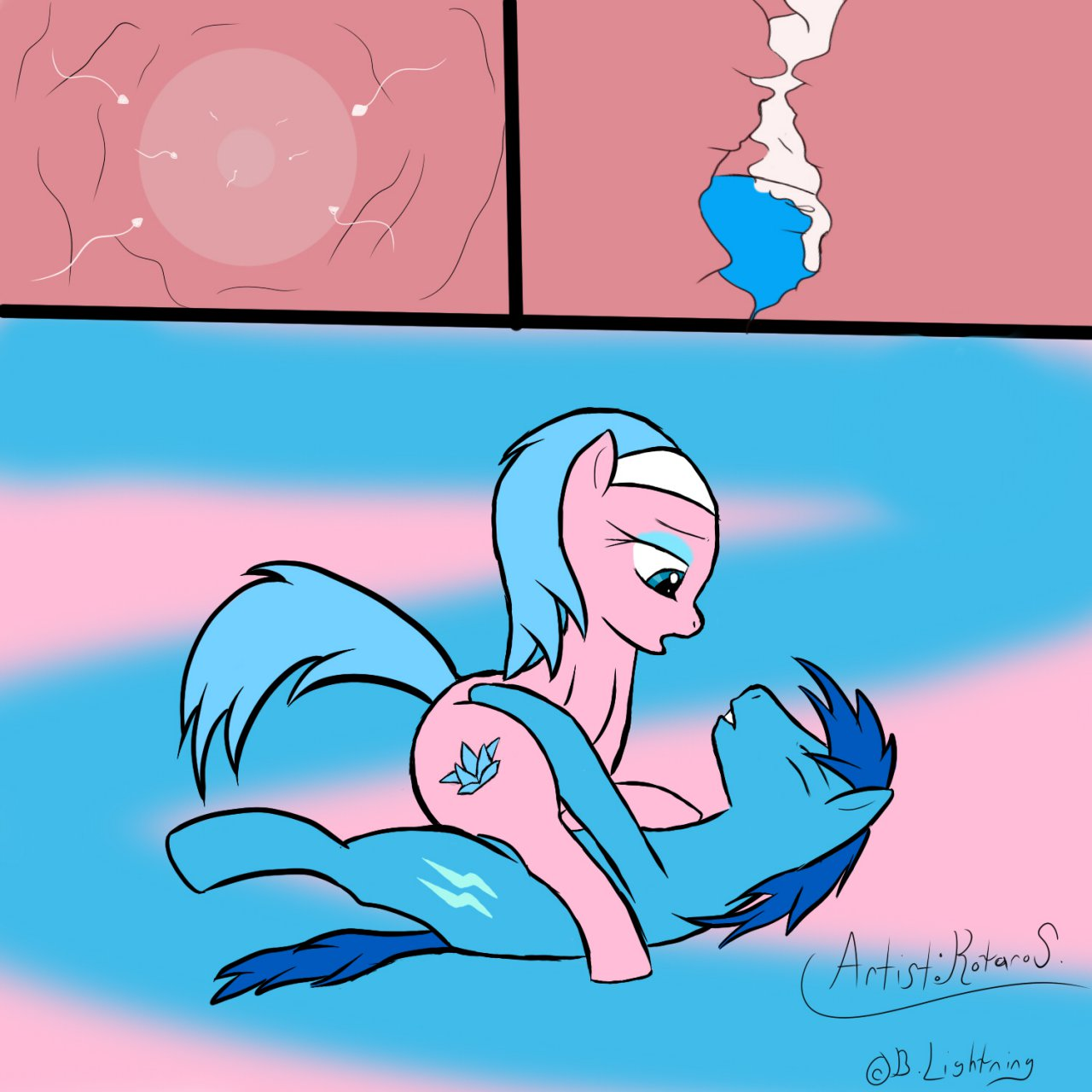 hentai impregnation little my pony Trials_in_tainted_space